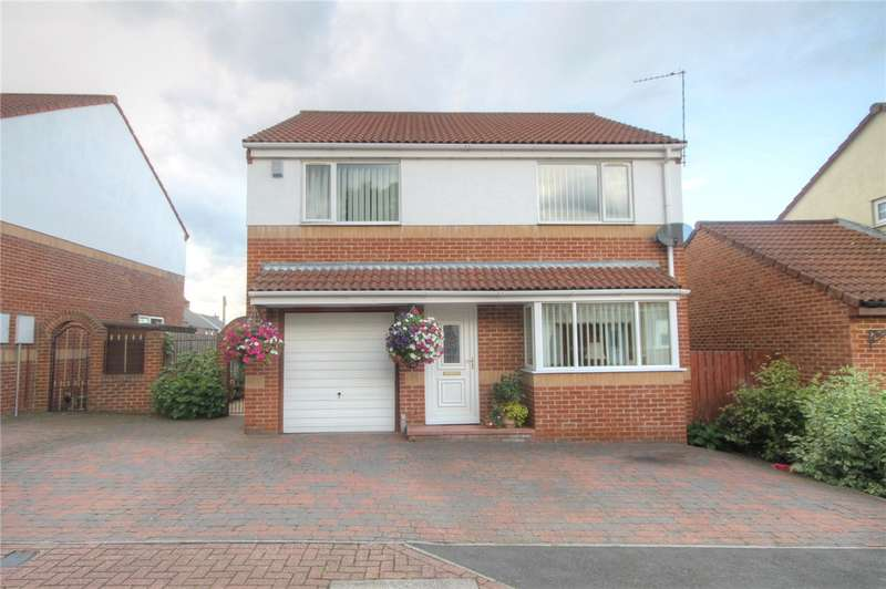 4 Bedrooms Detached House for sale in Kip Hill Court, Kip Hill, Stanley, DH9