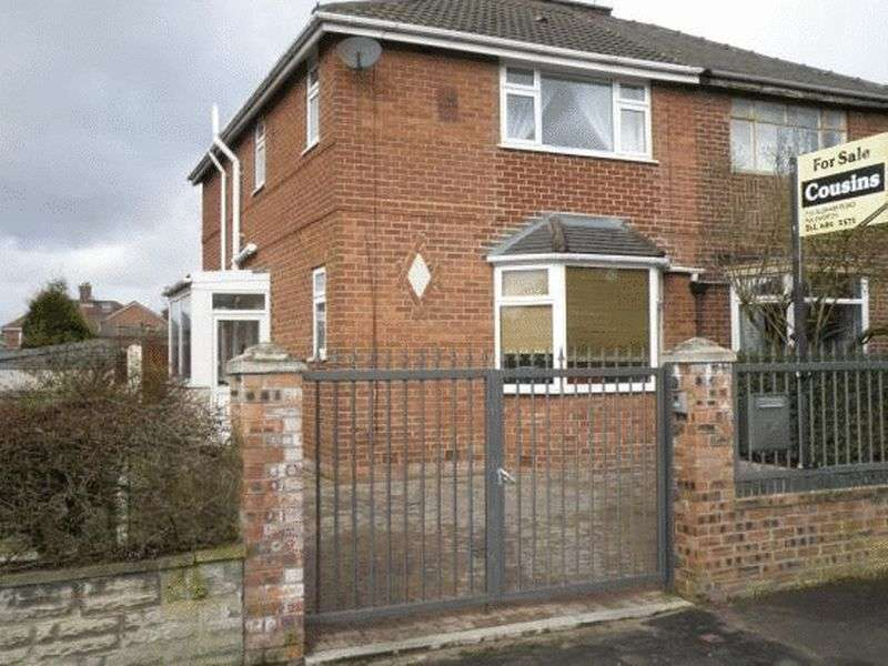 3 Bedrooms Semi Detached House for sale in Lord Lane, Manchester