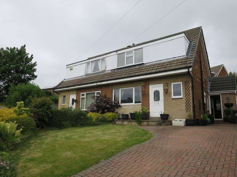 3 Bedrooms Semi Detached House for sale in Risedale Close, Birstall.