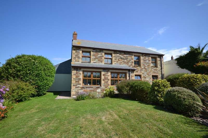 4 Bedrooms Detached House for sale in Chapel Hill, Porthtowan