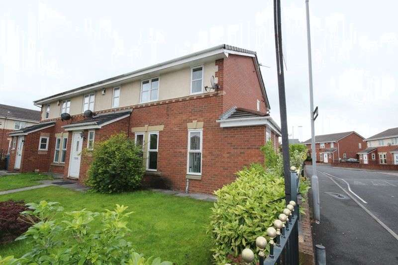 3 Bedrooms Terraced House for sale in Mapledon Road, Blackley, Manchester M9 4QG