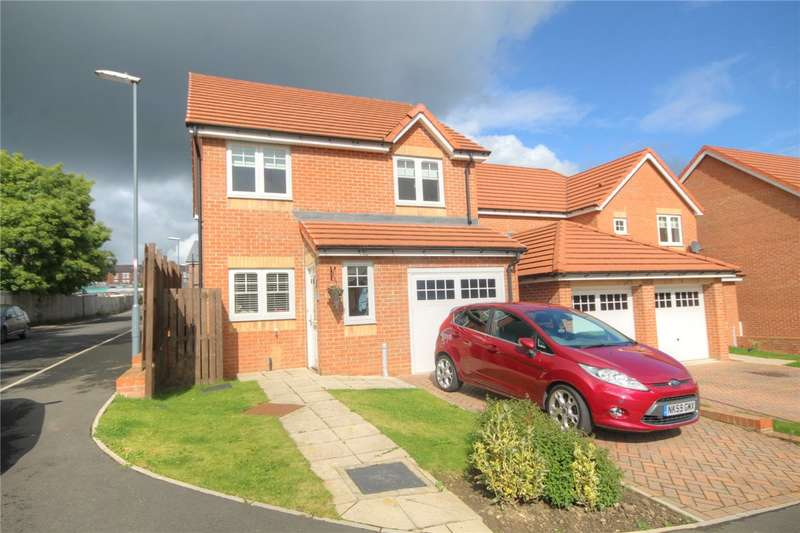3 Bedrooms Detached House for sale in Potterburn Close, South Moor, Stanley, DH9