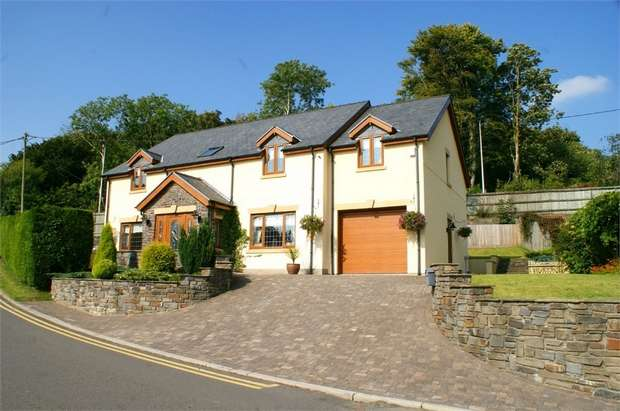 4 Bedrooms Detached House for sale in Heol Y Nant, Llannon, Llanelli, Carmarthenshire