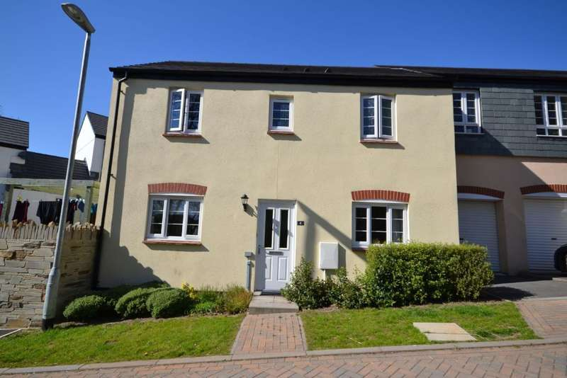 3 Bedrooms Semi Detached House for sale in Hugos Mill, Lowen Bre, Truro,