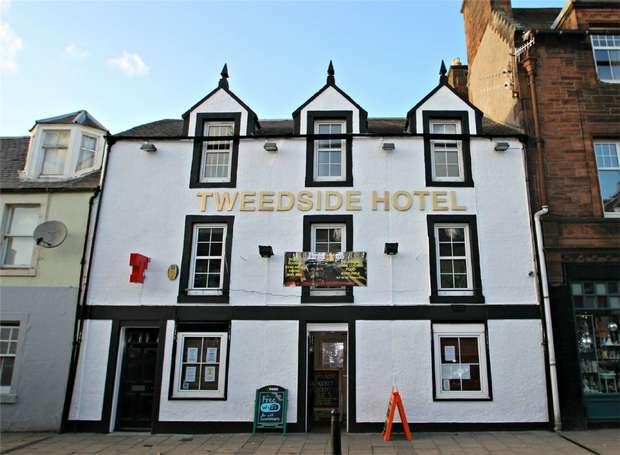 7 Bedrooms Commercial Property for sale in TWEEDSIDE HOTEL, INNERLEITHEN, Scottish Borders