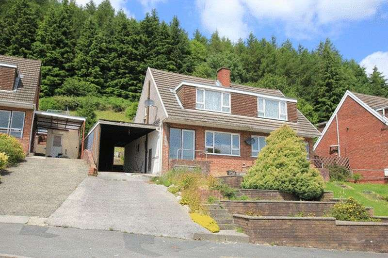 3 Bedrooms Semi Detached House for sale in HAFOD CWNIN, CARMARTHEN