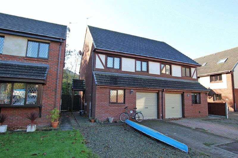 3 Bedrooms Semi Detached House for sale in LLYS HOLCWM, FERRYSIDE