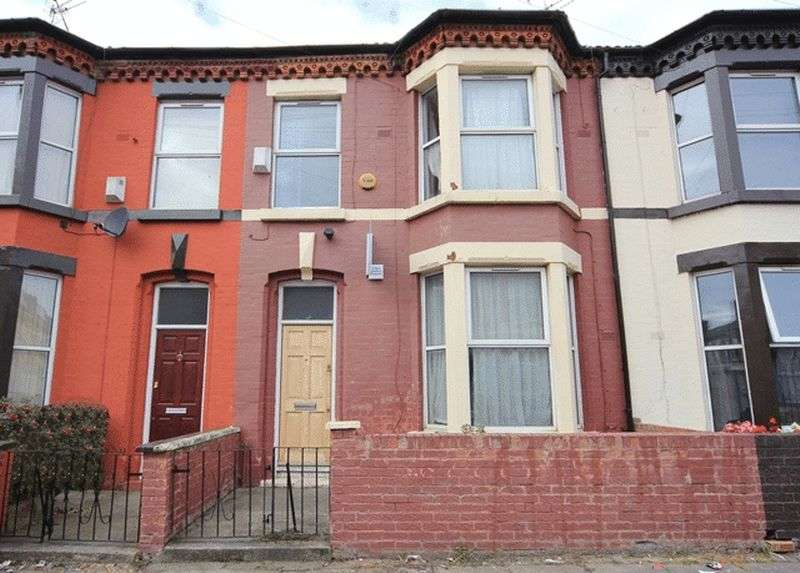 3 Bedrooms Terraced House for sale in Cecil Street, Wavertree, Liverpool, L15