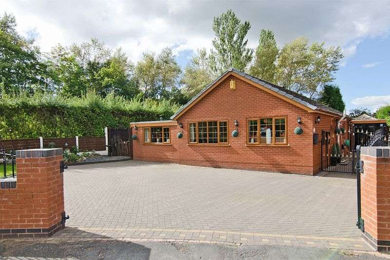 2 Bedrooms Detached Bungalow for sale in Berwyn Grove, Cheslyn Hay, Walsall