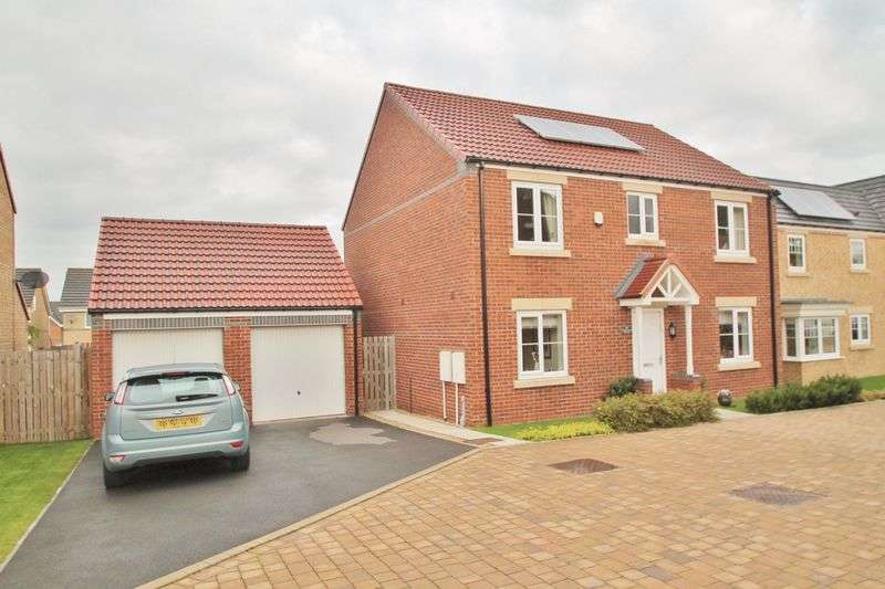4 Bedrooms Detached House for sale in Crosswood Avenue, Middlesbrough
