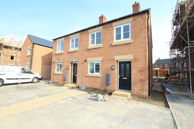 2 Bedrooms Semi Detached House for sale in Zurich Avenue, Biddulph
