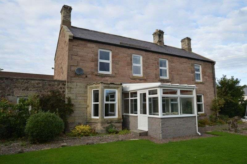 3 Bedrooms Detached House for sale in Main Road Milfield, Wooler