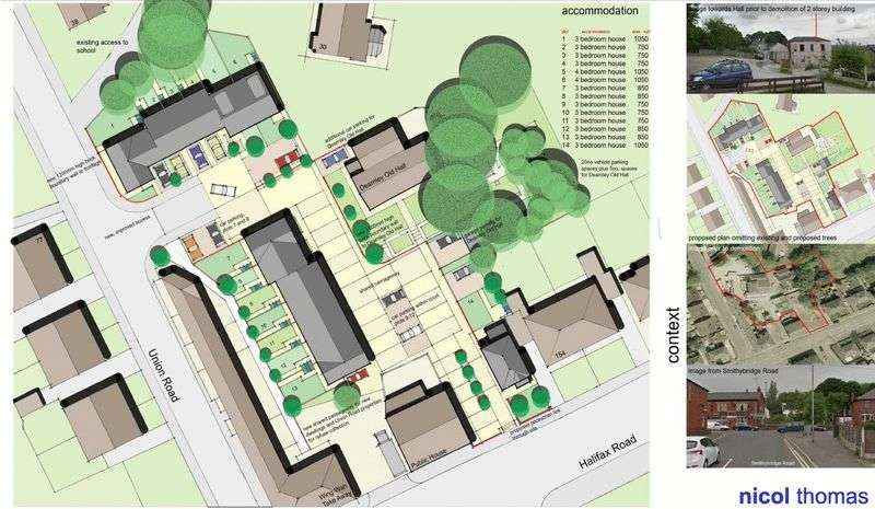 Land Commercial for sale in Dearnley Old Hall Site, New Road, Littleborough, OL15 8NL
