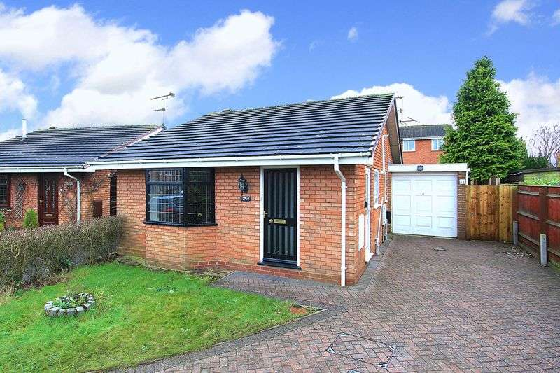 2 Bedrooms Detached Bungalow for sale in PERTON, Pugin CLose