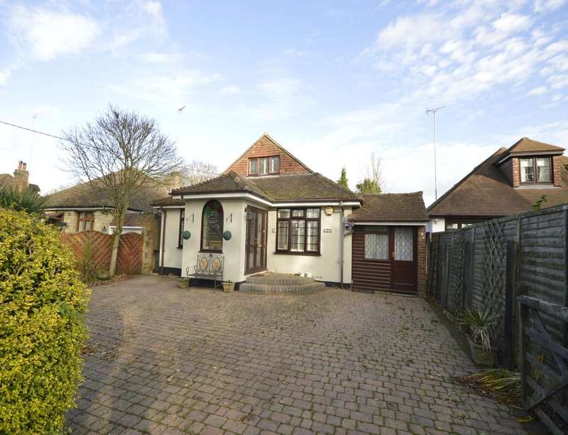 3 Bedrooms Detached Bungalow for sale in Caddington Common, Markyate, St Albans, AL3