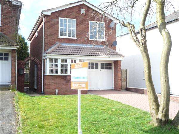 3 Bedrooms Detached House for sale in Wood End Road, Wednesfield, Wednesfield