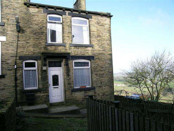 2 Bedrooms Terraced House for sale in Crossley Street, Queensbury, Bradford