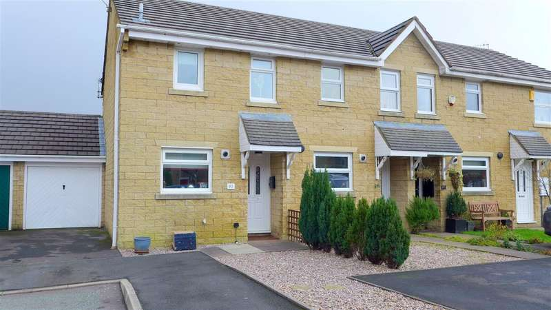 2 Bedrooms End Of Terrace House for sale in Printers Fold, Burnley