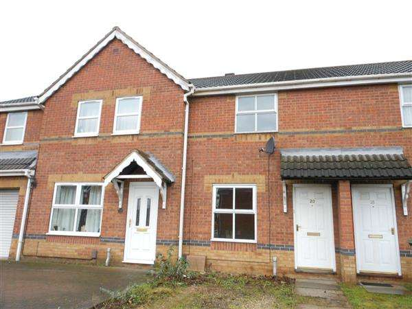 2 Bedrooms Town House for sale in Rose Walk, Scunthorpe