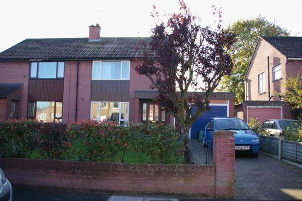 3 Bedrooms Semi Detached House for sale in Eden Park Crescent, Carlise - Cumberland