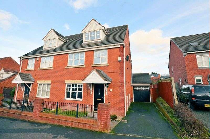 5 Bedrooms Semi Detached House for sale in Marshall Street, Smethwick