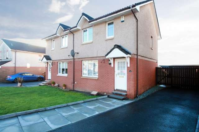 3 Bedrooms Semi Detached House for sale in Cragganmore, Tullibody, Clackmannanshire, FK10 2SY