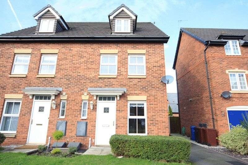 3 Bedrooms Semi Detached House for sale in Poplar Close, Halewood, Liverpool, L26