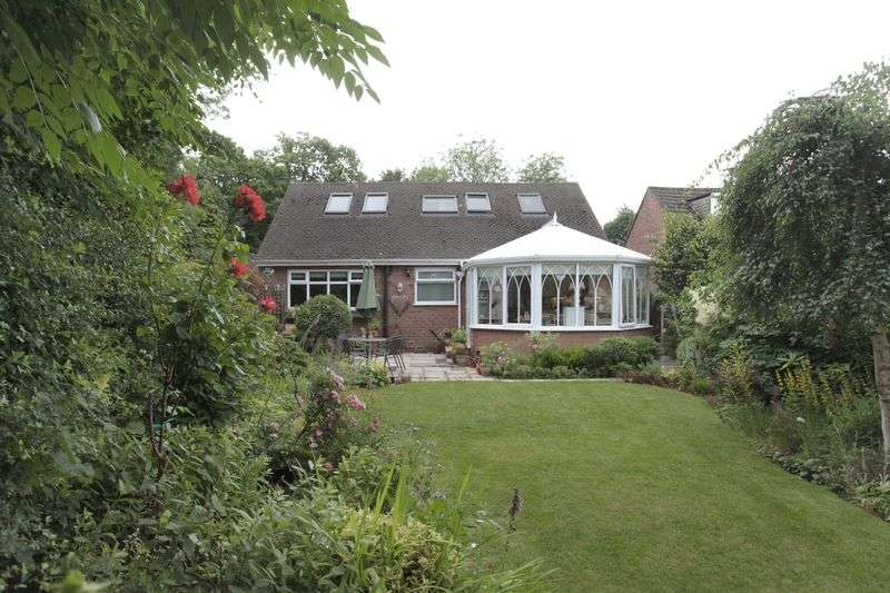 4 Bedrooms Detached Bungalow for sale in High Elm Road, Hale Barns, Altrincham