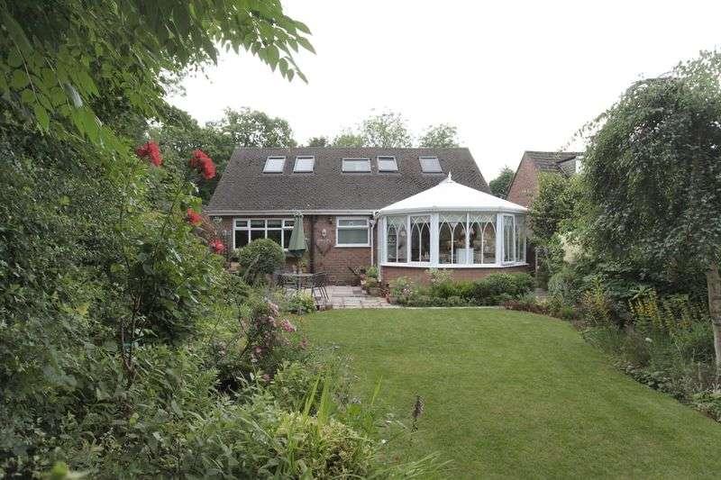 4 Bedrooms Detached Bungalow for sale in High Elm Road, Hale Barns, Altrincham