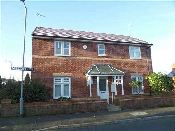 4 Bedrooms Detached House for sale in Caspian Road, Manchester