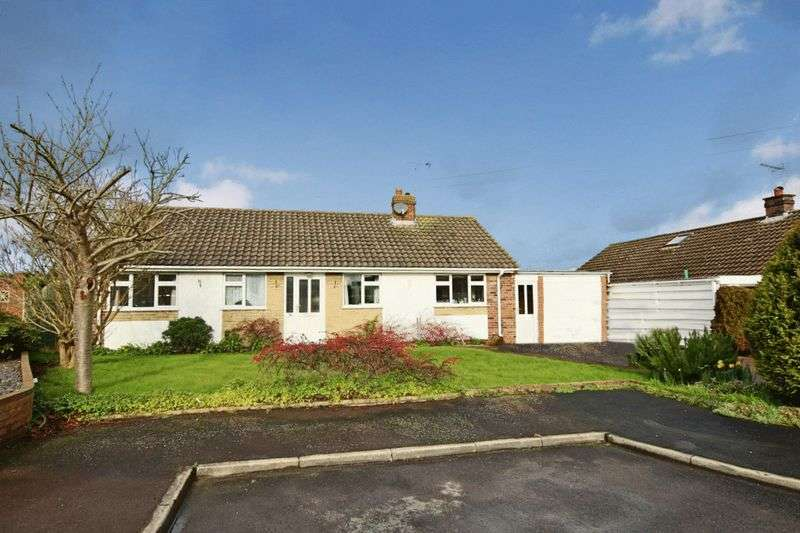 3 Bedrooms Detached Bungalow for sale in Laburnum Close, Great Bridgeford, Stafford