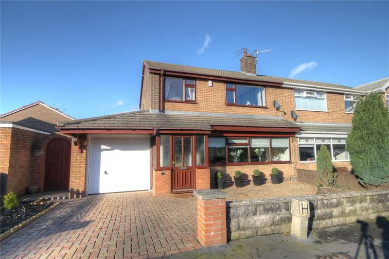 3 Bedrooms Semi Detached House for sale in Berkeley Grove, Bishop Auckland, County Durham, DL14
