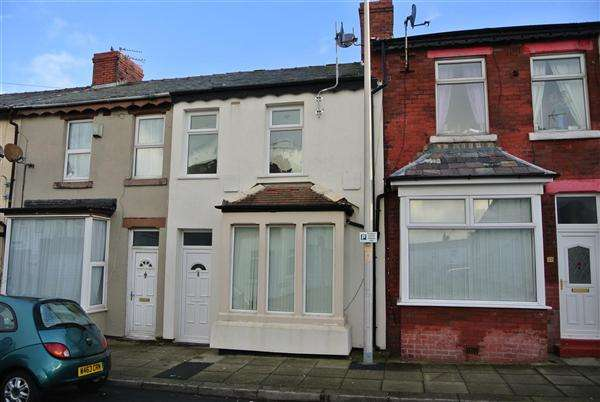 3 Bedrooms Terraced House for sale in Woolman Road, Blackpool