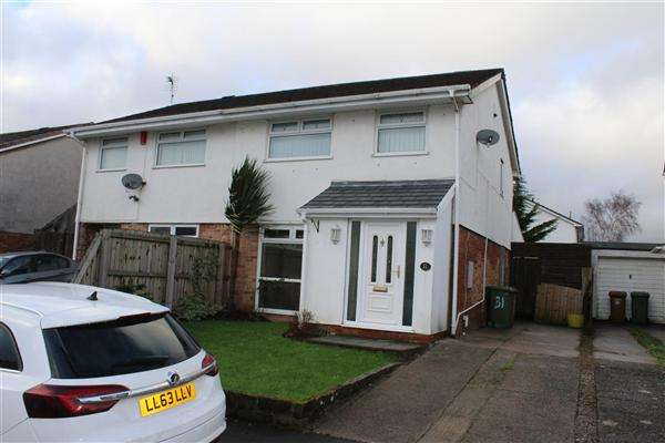 3 Bedrooms Semi Detached House for sale in Bryn Rhedyn, Mornington Meadows, Caerphilly