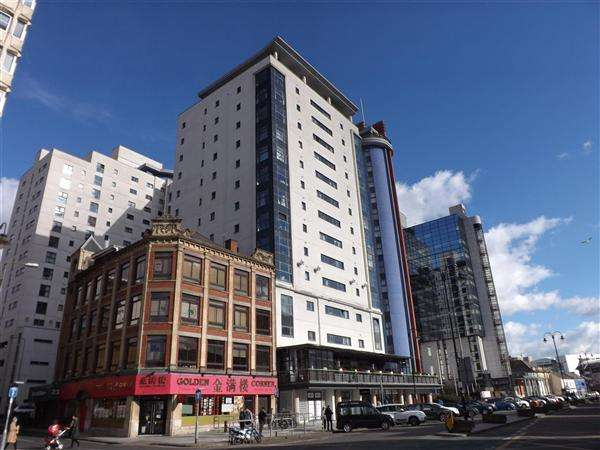 2 Bedrooms Apartment Flat for sale in Landmark Place, Churchill Way, Cardiff