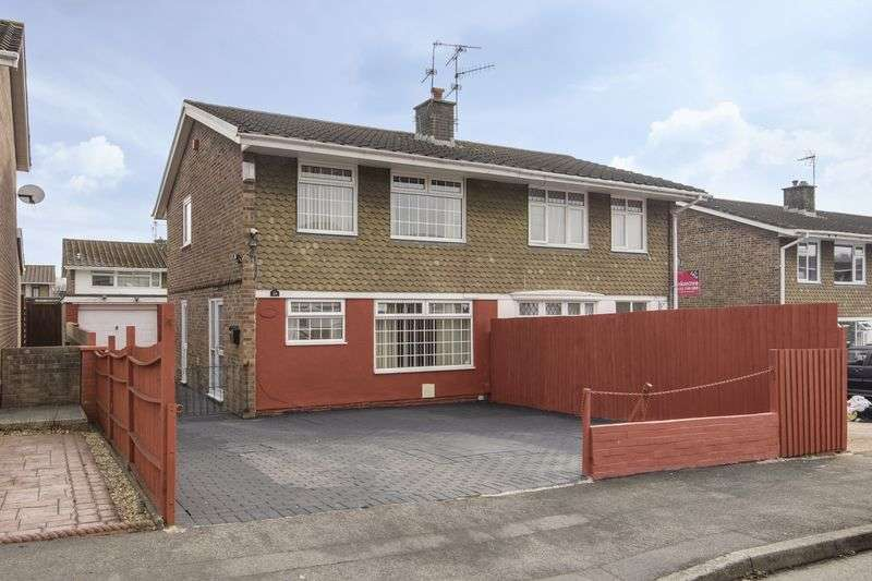 3 Bedrooms Semi Detached House for sale in Court Gardens, Newport