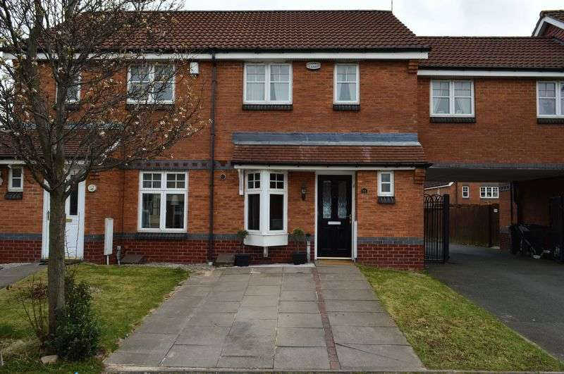 3 Bedrooms Terraced House for sale in Brunel Drive, Tipton