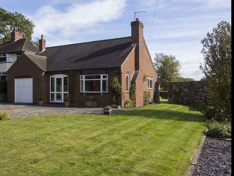 3 Bedrooms Detached Bungalow for sale in Manor Lane, Leigh, Stoke-On-Trent