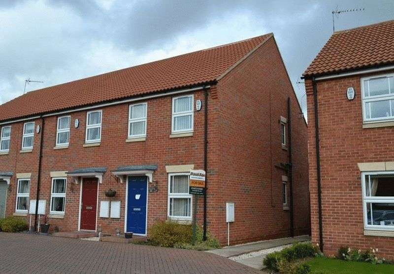 2 Bedrooms Terraced House for sale in 11 Fenland Court, Barton-upon-Humber
