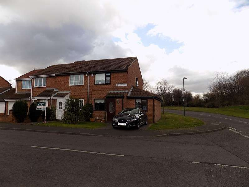 2 Bedrooms Semi Detached House for sale in Vernon Close, South Shields