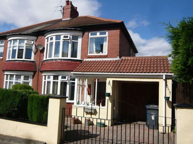 3 Bedrooms Semi Detached House for sale in Clifton Avenue, South Shields