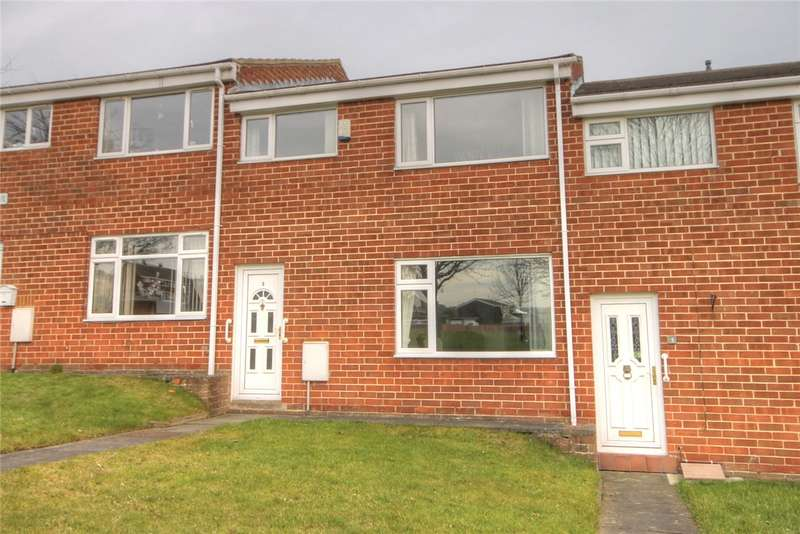 3 Bedrooms Terraced House for sale in Hilsdon Drive, Shildon, Co Durham, DL4