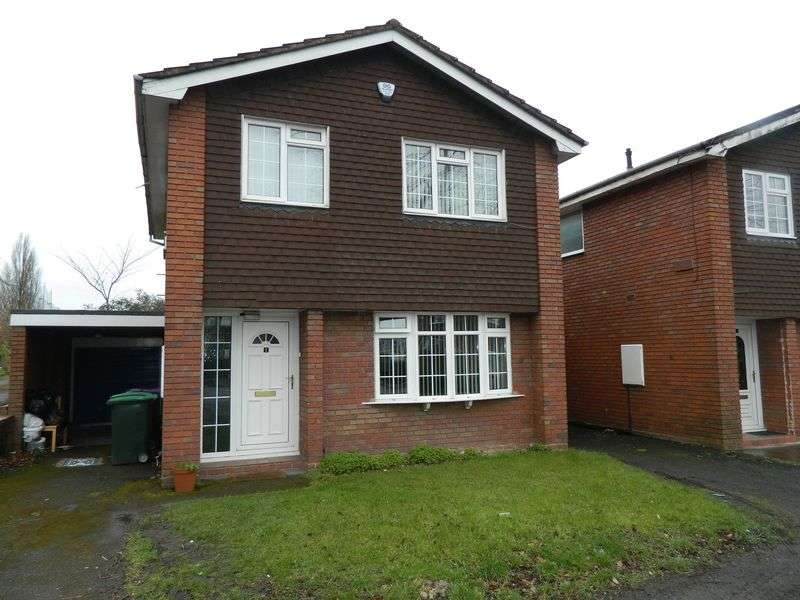 4 Bedrooms Detached House for sale in Dove Close, Wednesbury