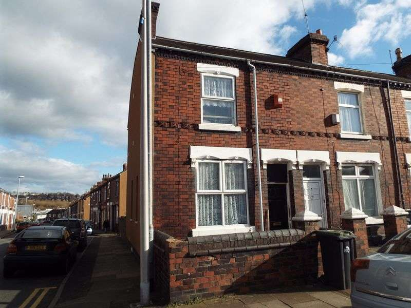 2 Bedrooms Terraced House for sale in Gibson Street, Tunstall, Stoke-On-Trent