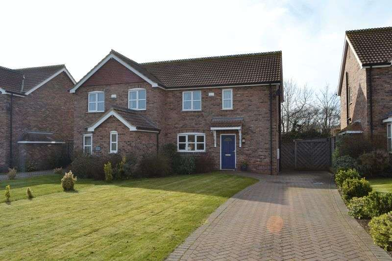 3 Bedrooms Semi Detached House for sale in Worsley Paddock, Ulceby
