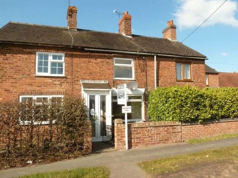 2 Bedrooms Terraced House for sale in Audlem Road, Hankelow, Nr Nantwich