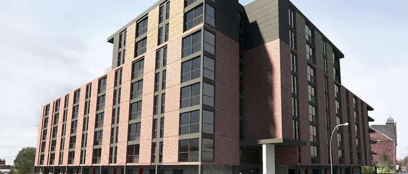 Studio Flat for sale in Ford Lane, Salford, Greater Manchester, M6