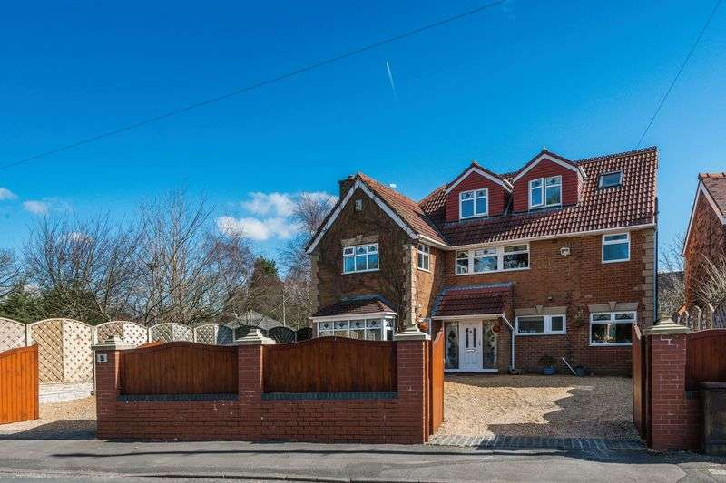 4 Bedrooms Detached House for sale in Brookfield Lane, Aughton