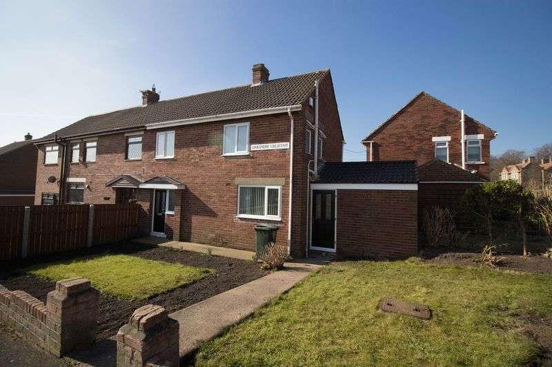 3 Bedrooms Semi Detached House for sale in Grasmere Crescent, Winlaton