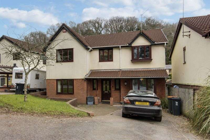 5 Bedrooms Detached House for sale in Ffos-Y-Fran, Newport
